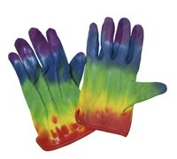 Tie-Dyed Gloves